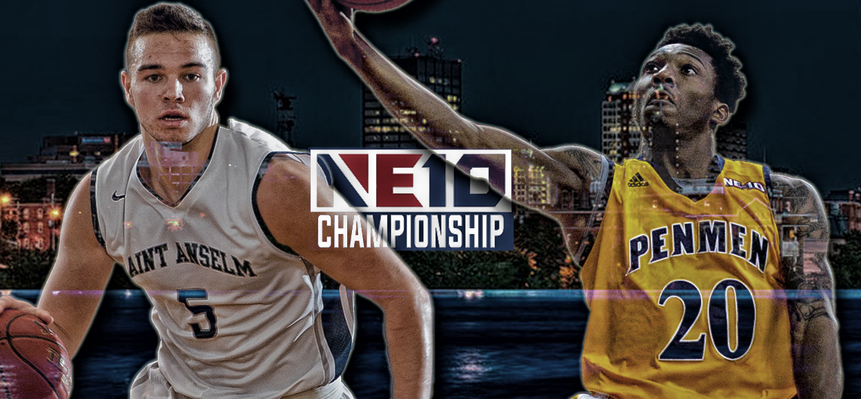 Manchester by the NE10: Queen City Showdown On Tap for Men's Basketball Championship Final
