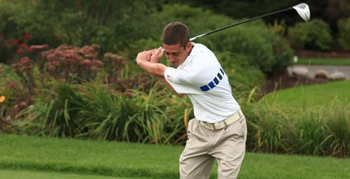 Falcon men's golf competes at Marian Invite