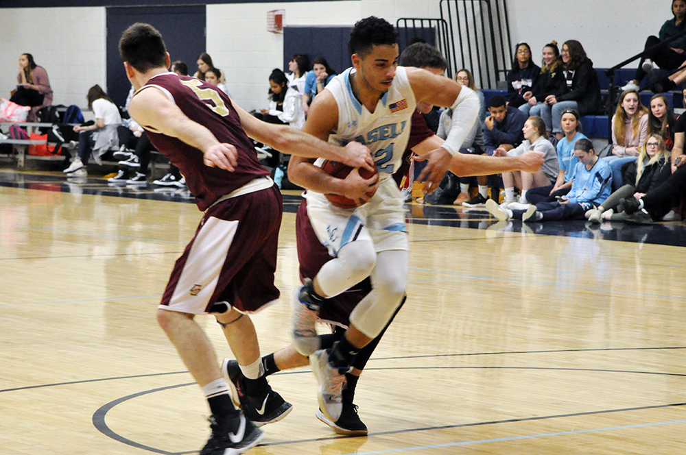 MBB: Lasell rolls past Norwich for GNAC victory