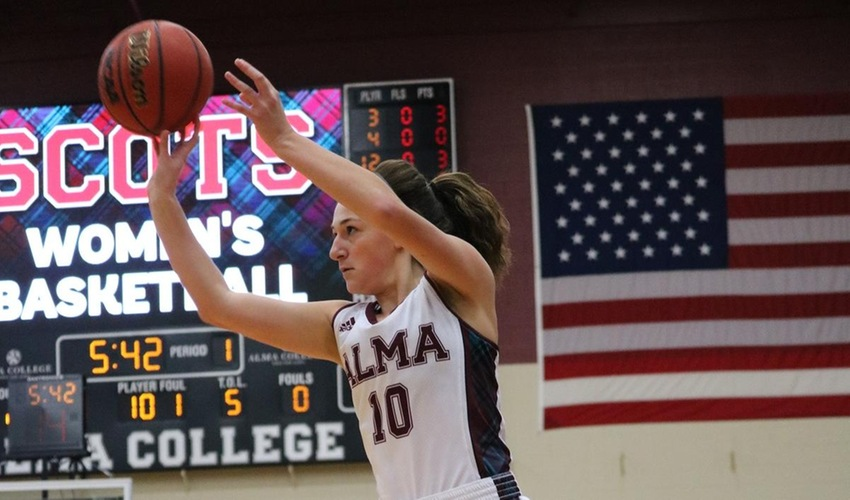 Alma Falls at Home to Saint Mary's