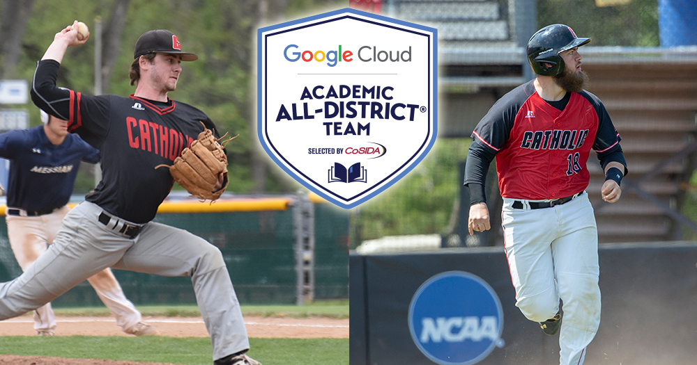 O'Hagan & Ropelewski Make CoSIDA Academic All-District Teams