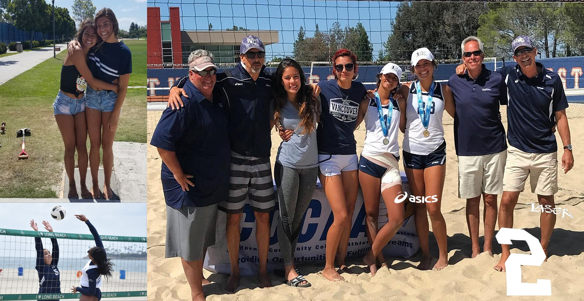No. 2 Story of the Year - Women's beach volleyball champions