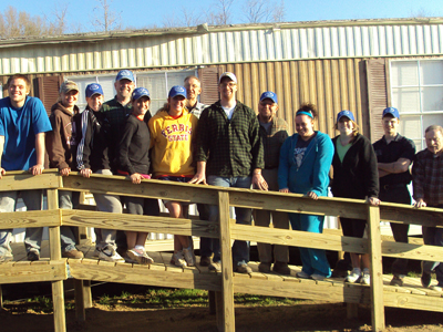 Ferris State Student-Athletes Spend Spring Break Helping Others