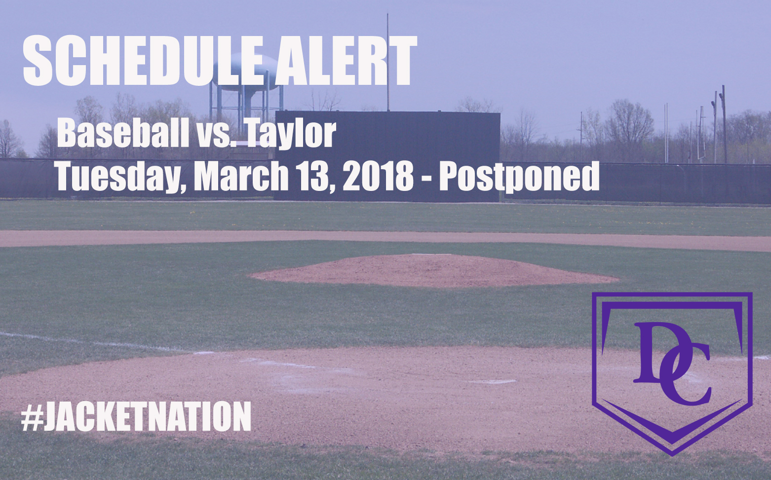 Baseball Doubleheader at Taylor Postponed