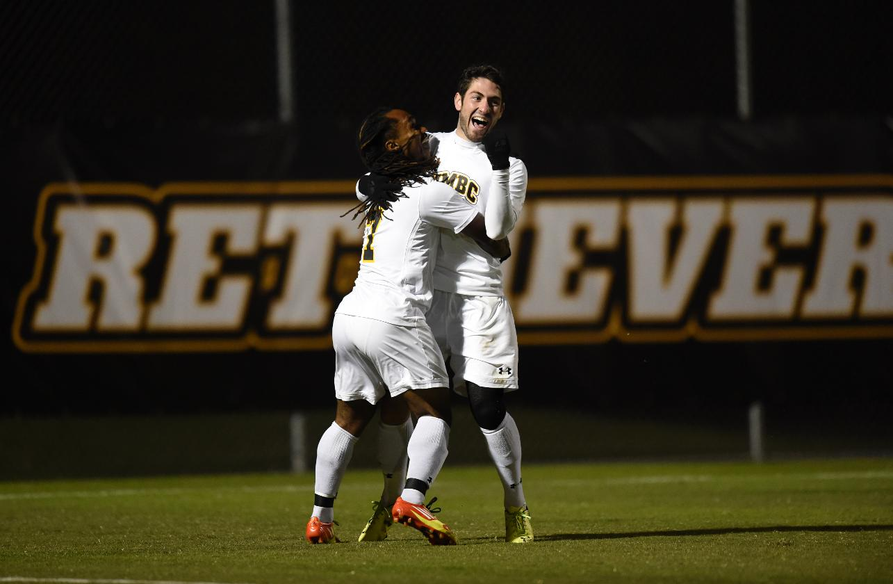 Men's Soccer Clinches Share Of AE Title With 5-1 Triumph Over Vermont