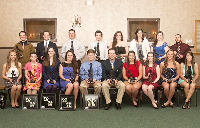 Husson Athletics Hosts Annual Eagle Award Banquet