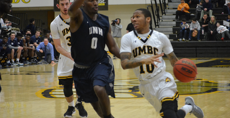 """Third Time's A Charm!"" - Retrievers' Final Rally Gives Odom's Crew a 105-103 Double OT Win over UNH"