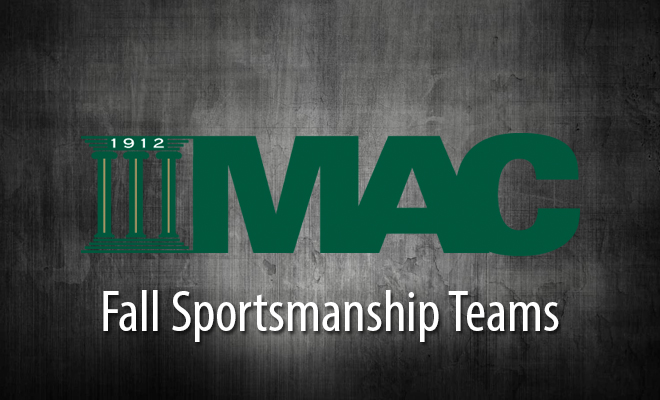 Mustangs Place Seven Student-Athletes on MAC Fall Sportsmanship Team