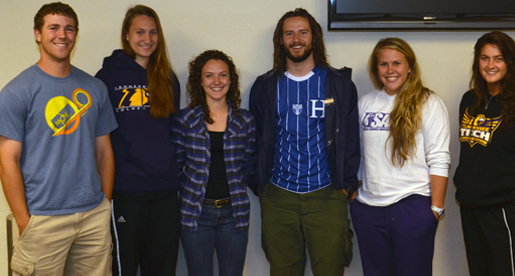 New leaders of Tech SAAC refuel for 2013-14 sports season