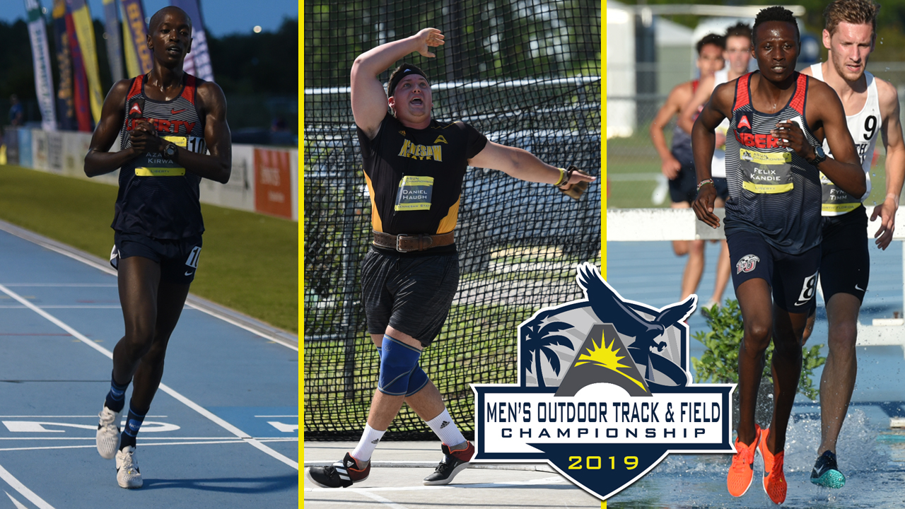 Four #ASUNTF Men's Records Fall on Day One of Outdoor Championship