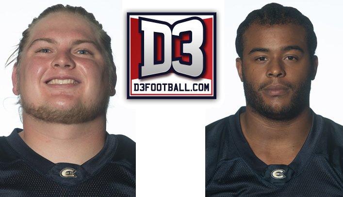 Santi & Sweeney Selected to D3football.com All-West Region Team
