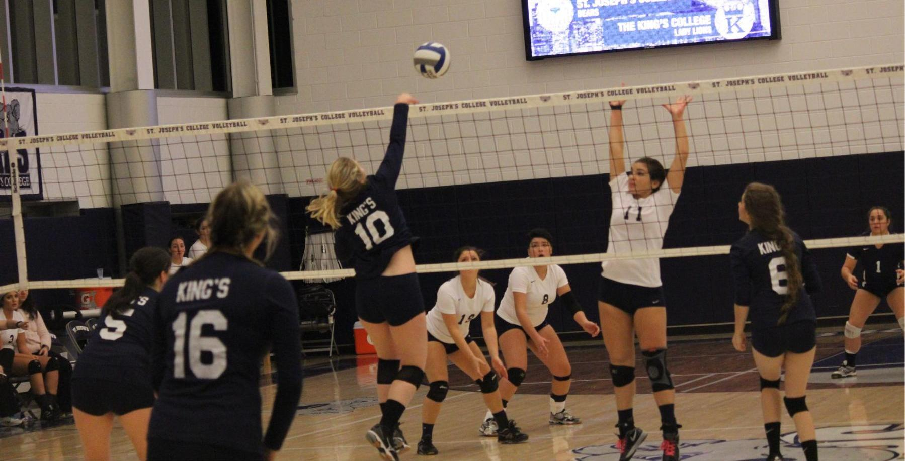 Women's Volleyball Falls to Pratt