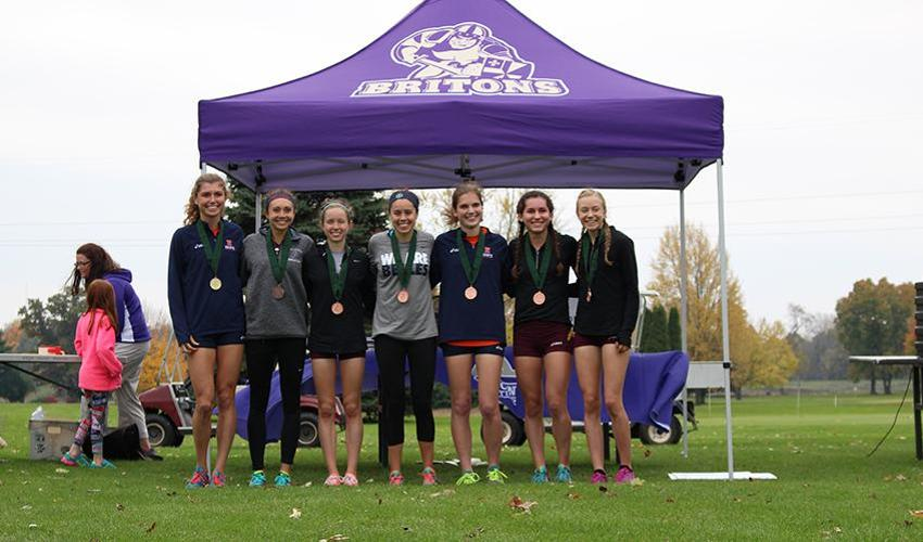 Women's Cross Country finishes third at MIAAs
