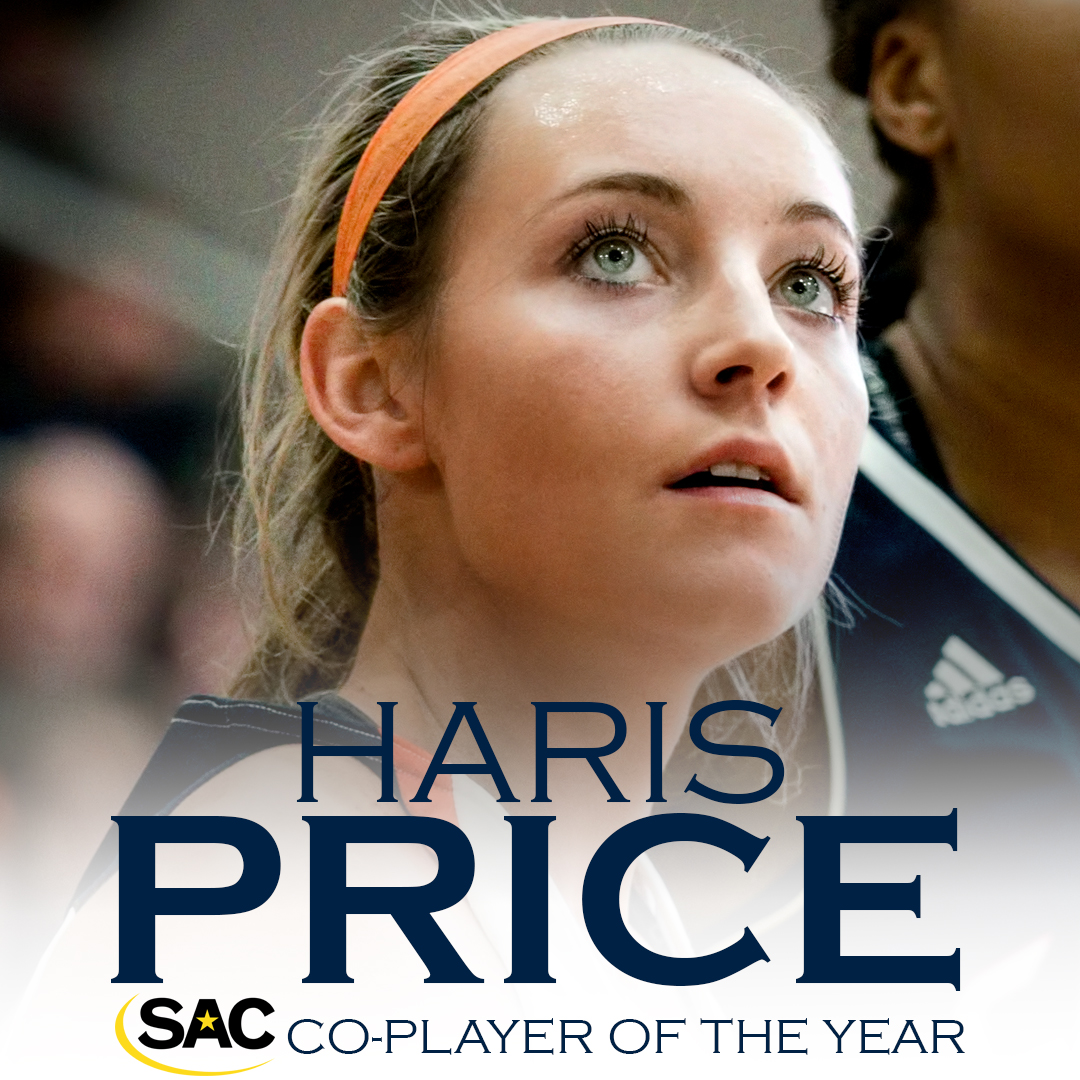 Price nets Co-Player of Year, Mincey named top coach as #7 C-N racks up All-SAC nods
