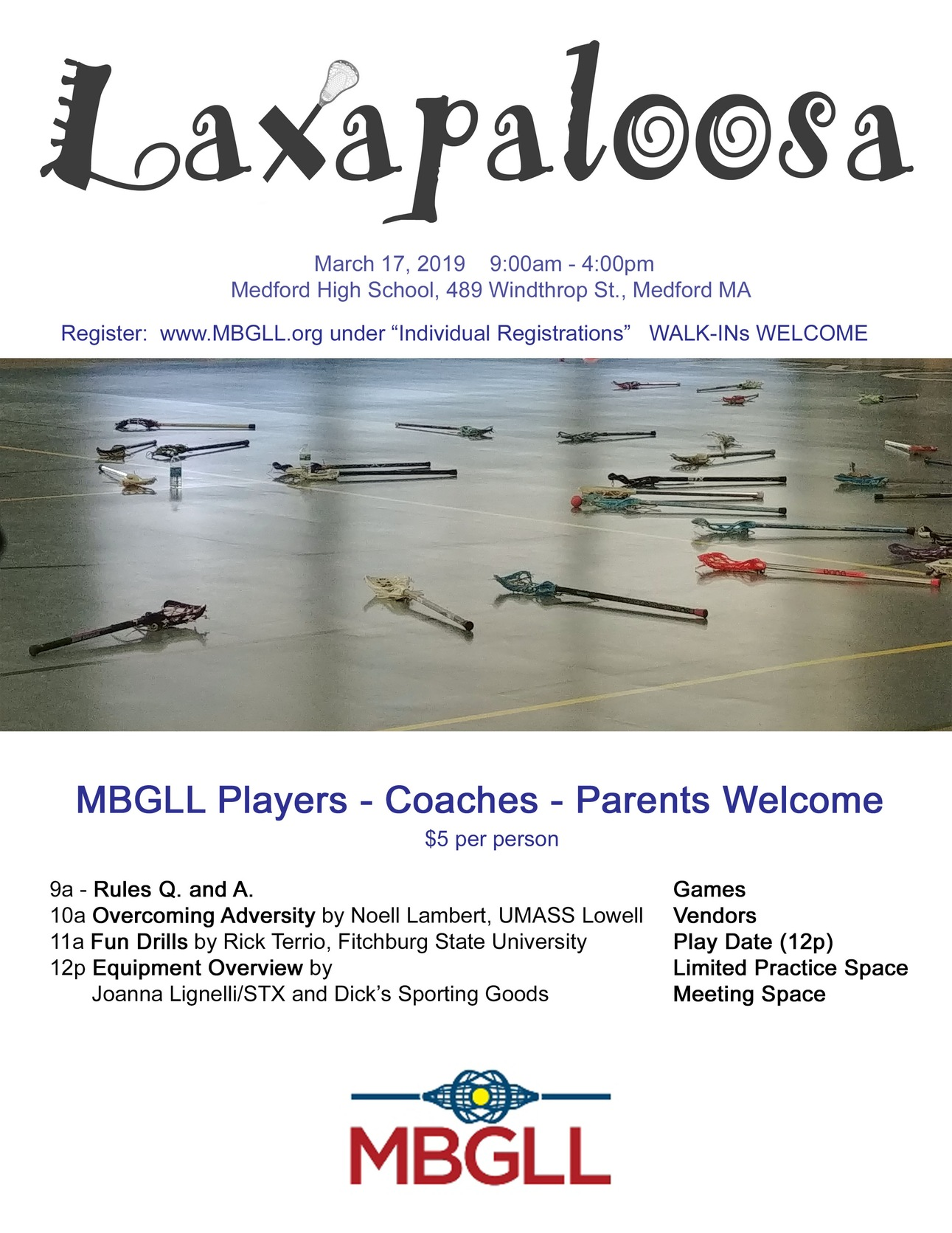 Terrio Featured Speaker At 2019 MBGLL Laxapaloosa