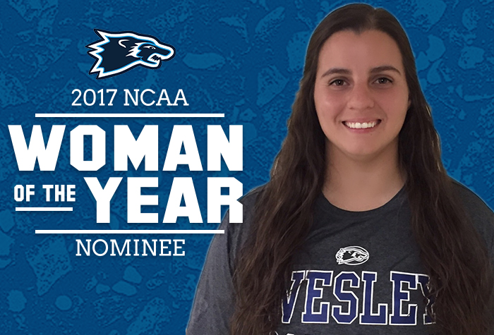 Marcano nominated for 2017 NCAA Woman of the Year award