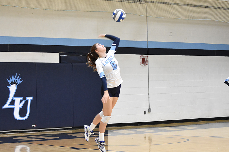 WVB: Lasers drop two matches against GNAC opponents in tri-match