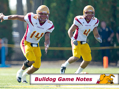 Football Game Notes: NMU (Oct. 15)