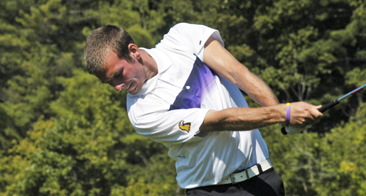 Kitts leads Golden Eagles through first day of F&M Bank tourney play