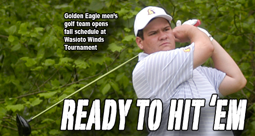 Golden Eagle men's team opens fall season at Wasioto Winds