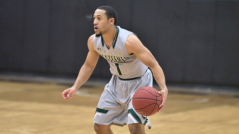 Men's Basketball Fall to Hagerstown