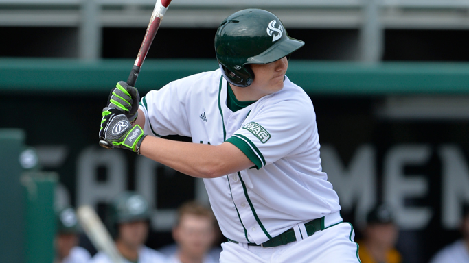 BASEBALL DEFEATS CAL POLY, 3-2, TO CLOSE WEEKEND SERIES