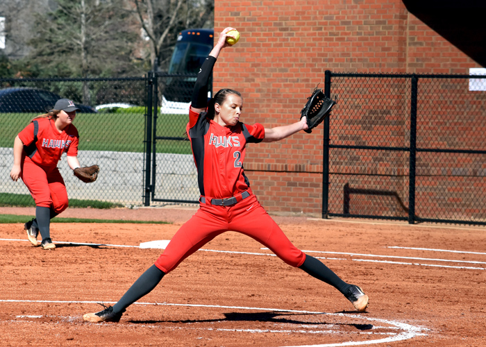 Senior Lindsey Selph threw a two-hitter and struck out nine in a five-inning win over Brevard on Saturday.