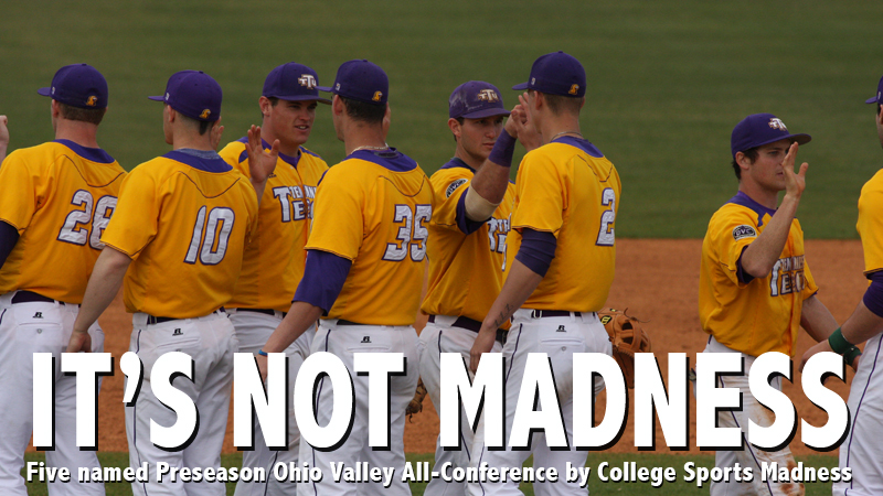 Five Golden Eagles garner College Sports Madness Ohio Valley Preseason All-Conference honors