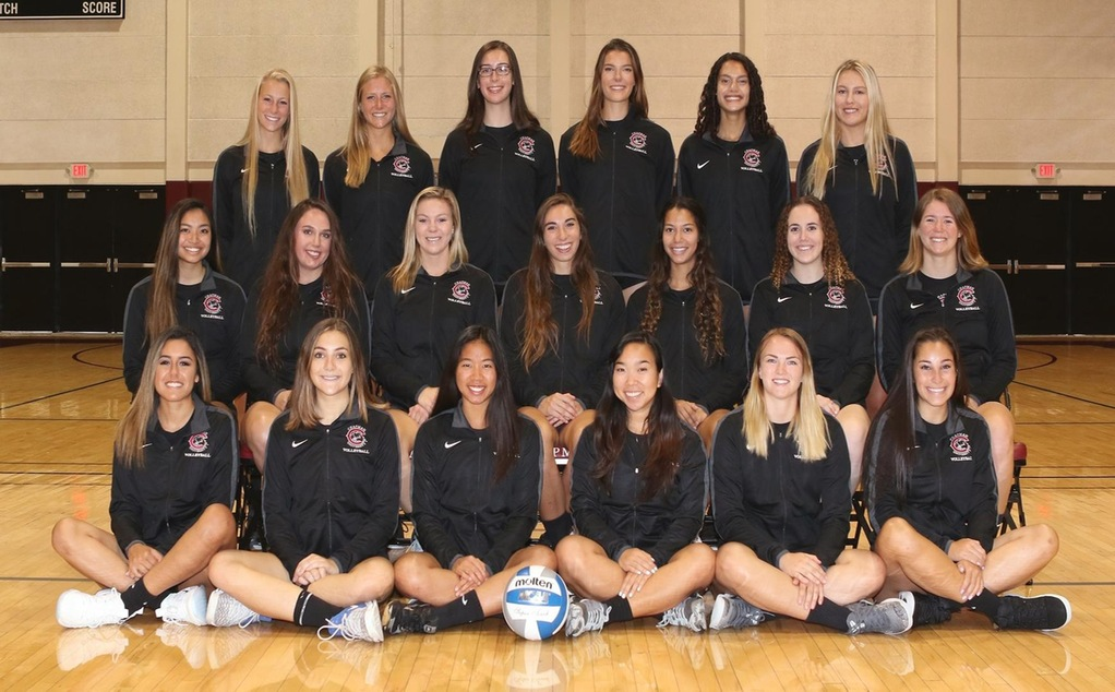 Chapman volleyball team picture