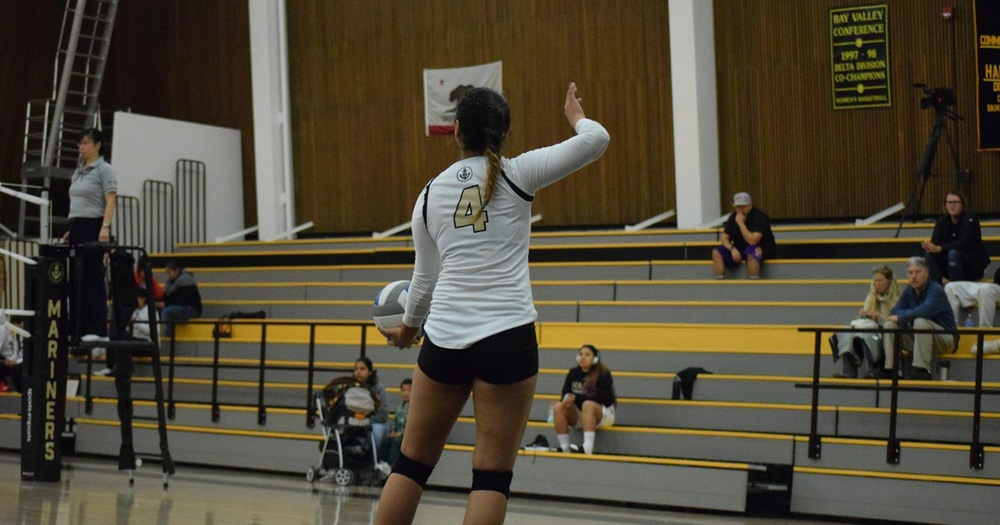 Mariner's Volleyball Sweeps College of Alameda 3-0