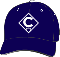 Cypress College Chargers Hat with Logo