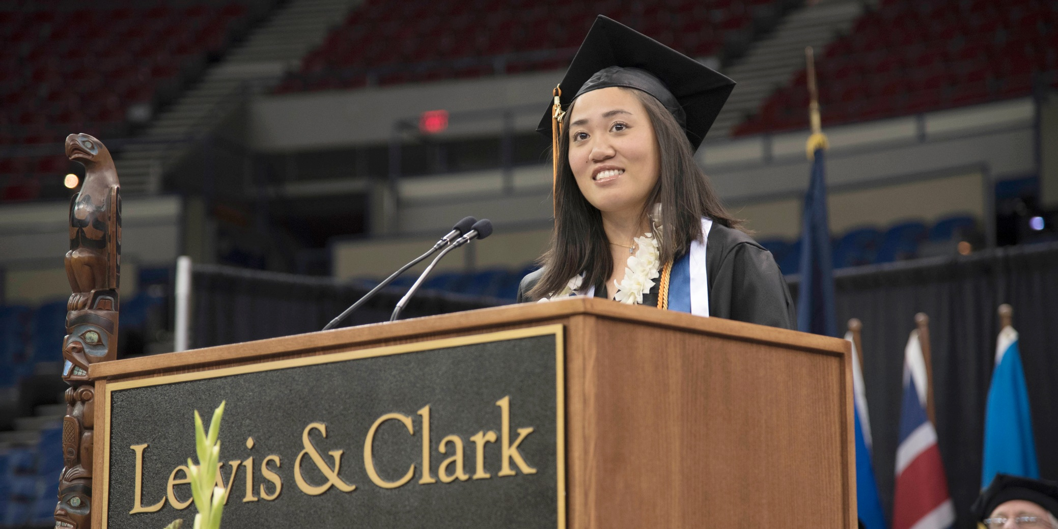 Valdez selected senior speaker, numerous student-athletes earn honors at commencement