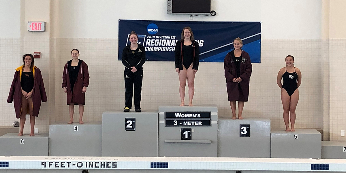 Megan Thai finishes 5th on the 3-Meter at NCAA Regionals