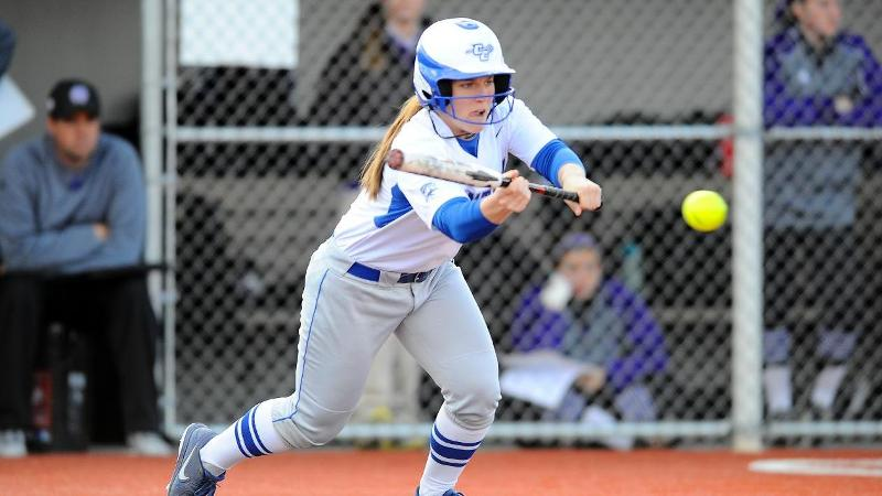 Softball Drops Two on Day One at Delaware State