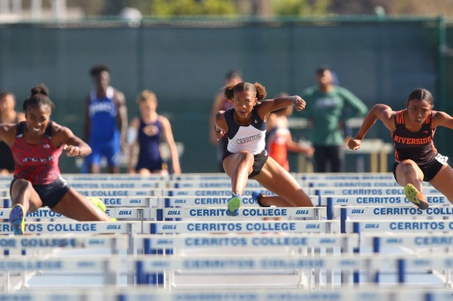 Falcons excelled at the Cerritos Invitational