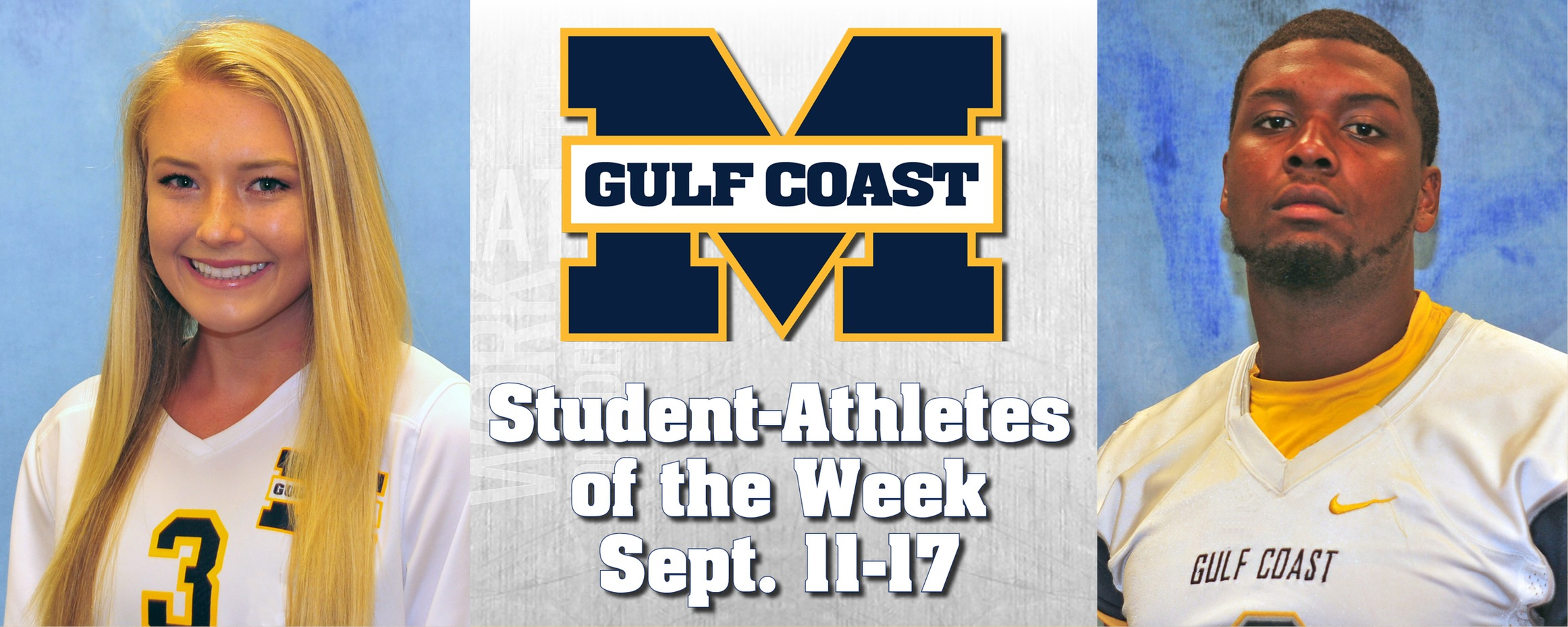 Harwell, Washington named MGCCC Student-Athletes of the Week