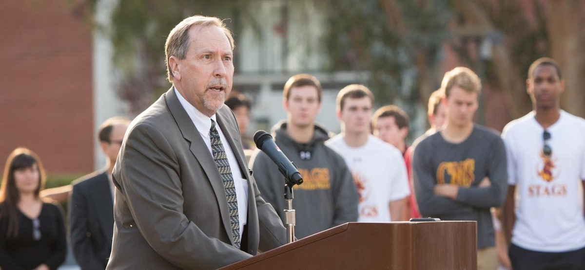 SCIAC honors Mike Sutton '76 with Distinguished Service Award