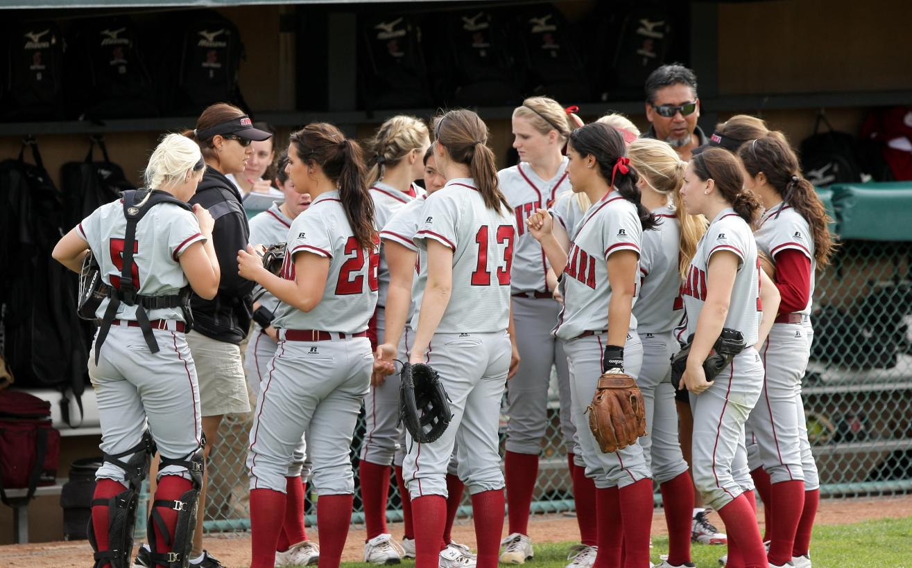 Rain Washes Out Softball's Game Sunday