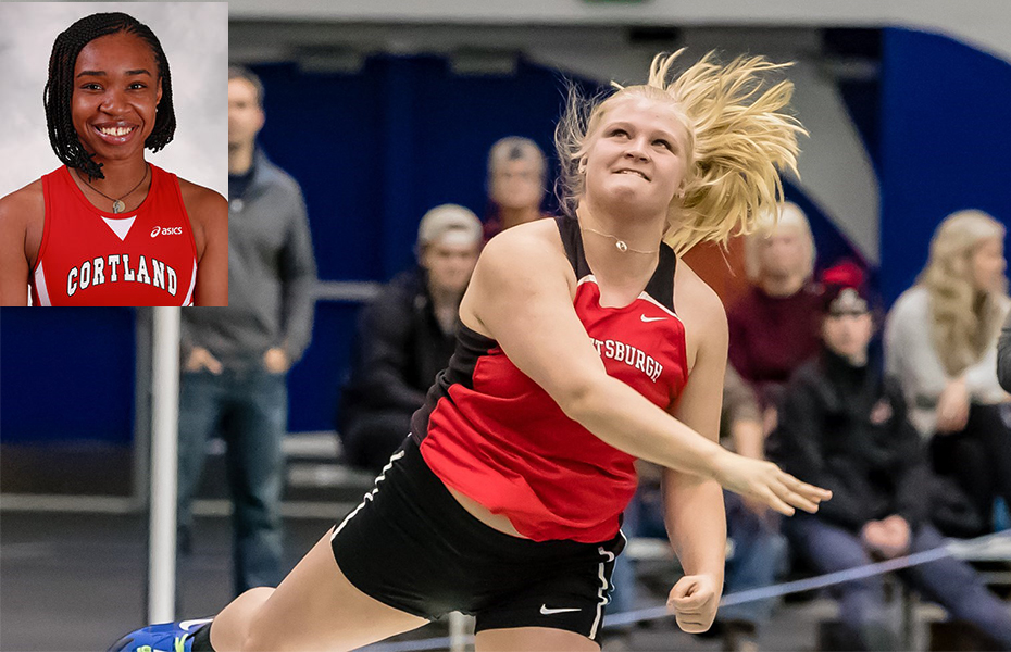 SUNYAC Announces Women's Indoor Track and Field Weekly Awards