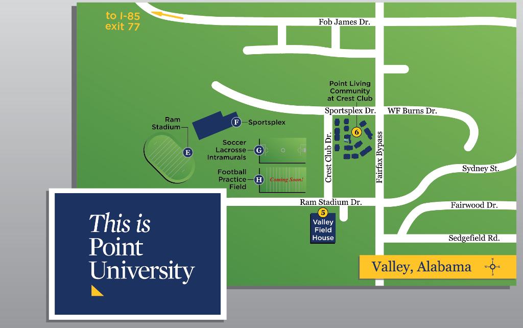 Directions Point University Athletics