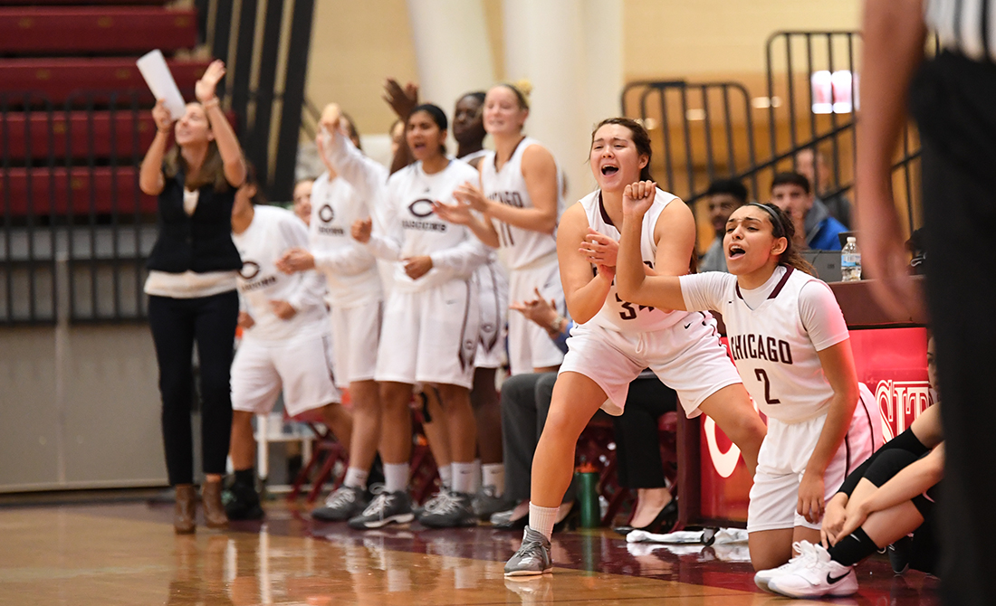 UPSET! UChicago Women's Basketball Downs #22 WashU to Open UAA Play