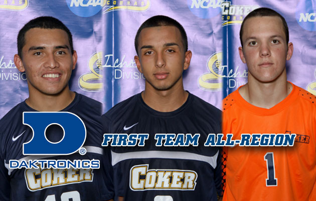Three Cobras Receive First Team All-Region Honors