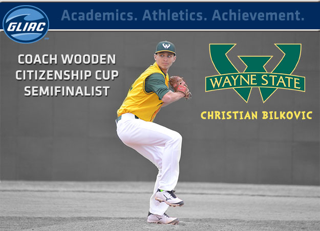 Christian Bilkovic Named Semifinalist For Coach Wooden Citizenship Cup