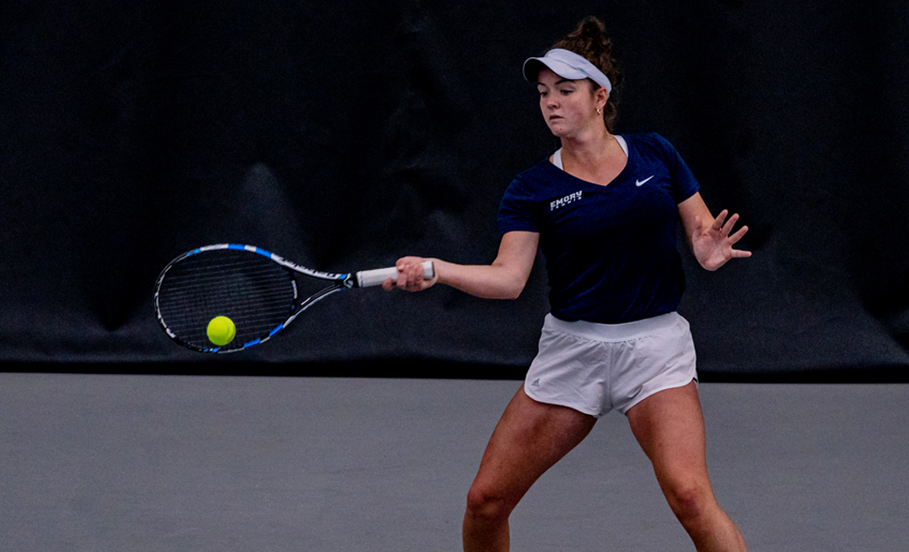 Women's Tennis Downs Carnegie Mellon in Top-5 Matchup