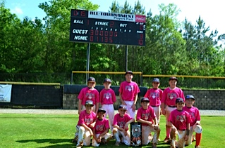 6-4-3 DP Baseball's 9U Cougars win Triple Crown's North Atlanta Open