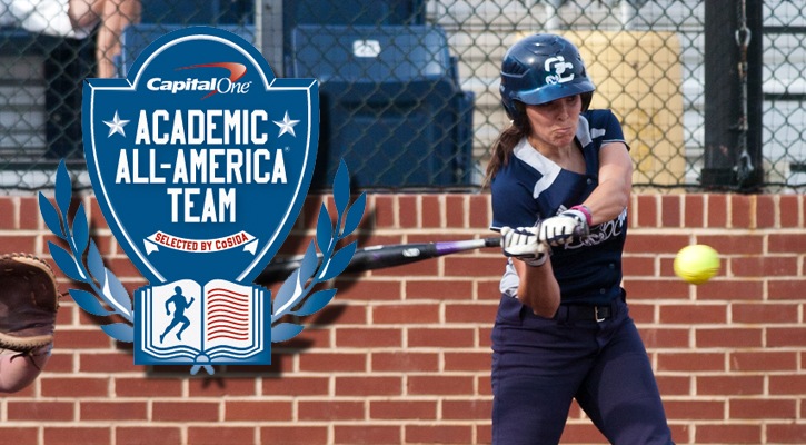 GC Softball's Duvall Named Capital One Academic All-District