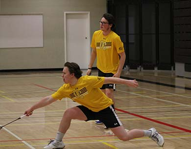 Concordia wins ACAC badminton tournament #1, Broncos place third