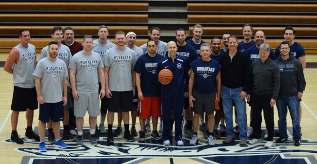 Men's Basketball Hosts Annual Alumni Game