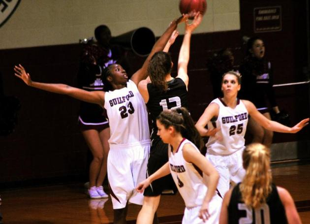 Guilford Trio Lands All-ODAC Women's Basketball Honors