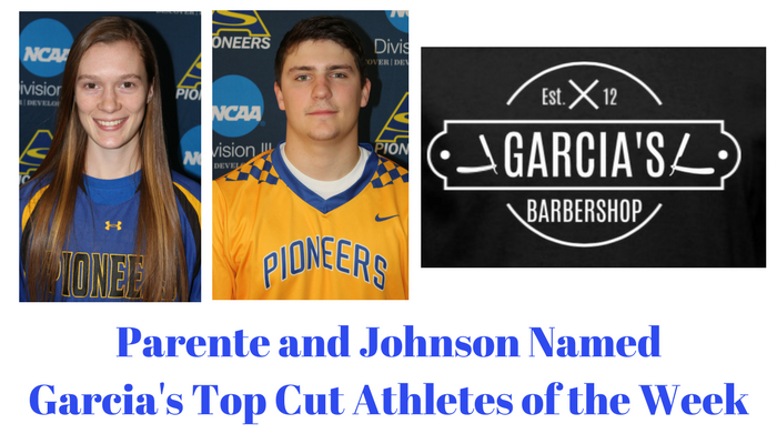 Garcia's Top Cut Athletes of the Week - April 16th